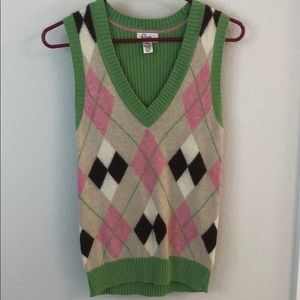 Lilly Pulitzer sweater vest